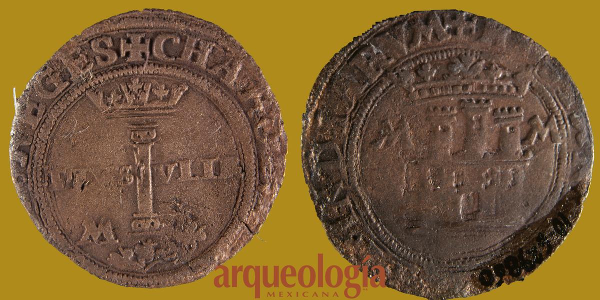Primeras monedas acuñadas en la Ciudad de México