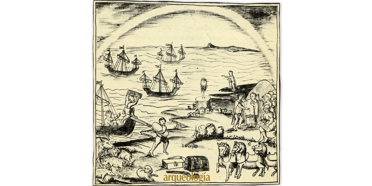 """Año 1 ácatl, """"1 caña""""(1519). Un encuentro de dos epistemes I"""
