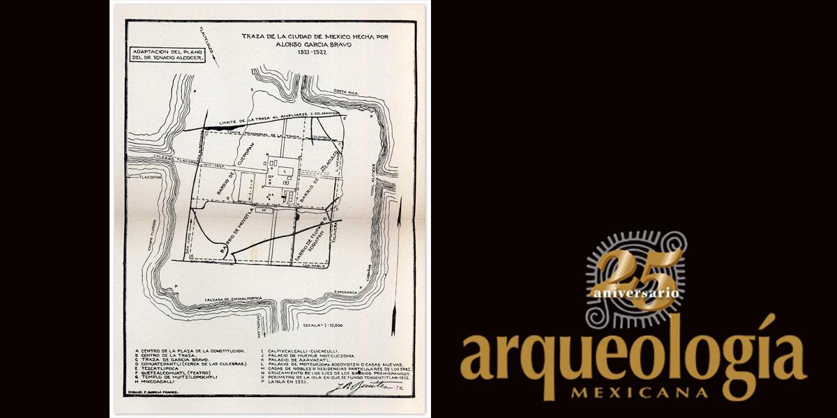 El subsuelo del Centro Histórico de la Ciudad de México. Ruinas sobre ruinas