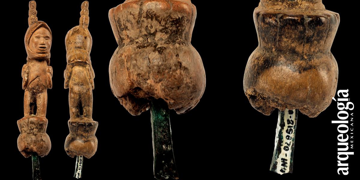 El buril de un orfebre de Moctezuma