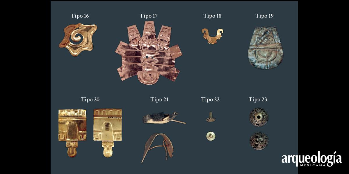 El oro de las ofrendas y las sepulturas del recinto sagrado de Tenochtitlan. La colección arqueológica del Proyecto Templo Mayor
