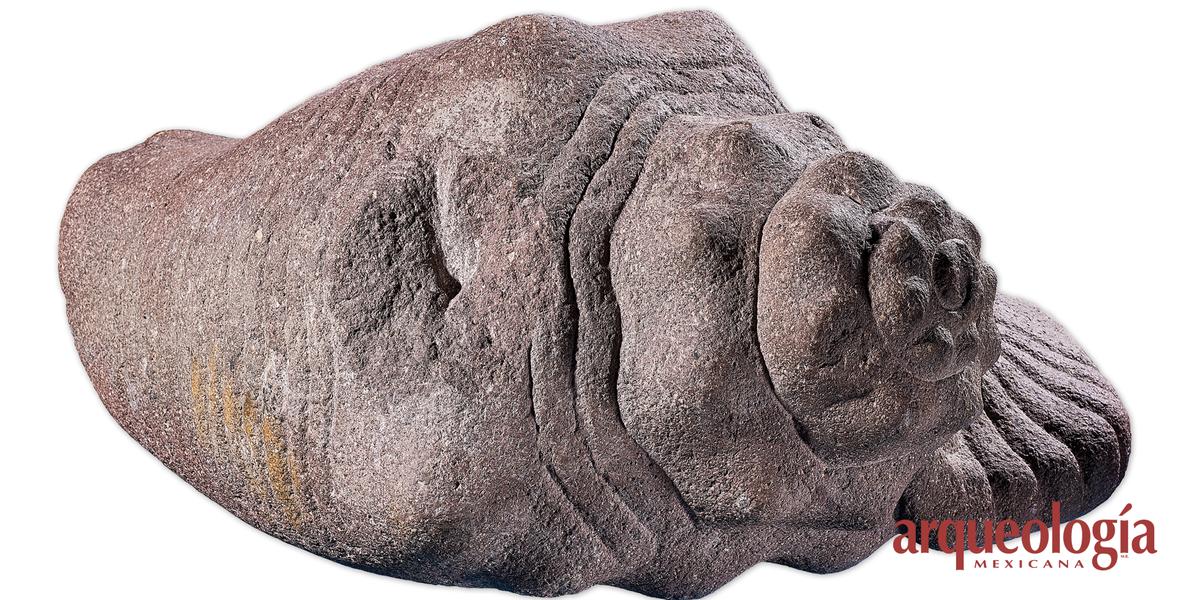Los caracoles monumentales del recinto sagrado de Tenochtitlan
