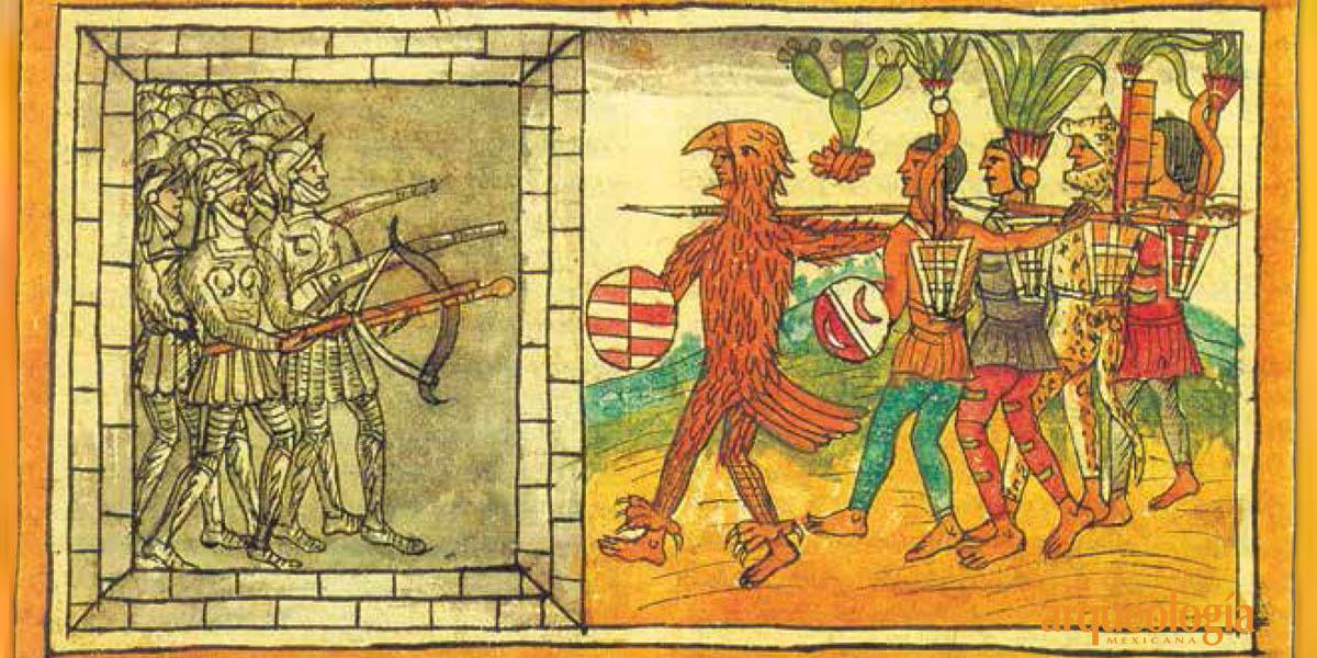 Sacrificio de españoles en vísperas de la conquista