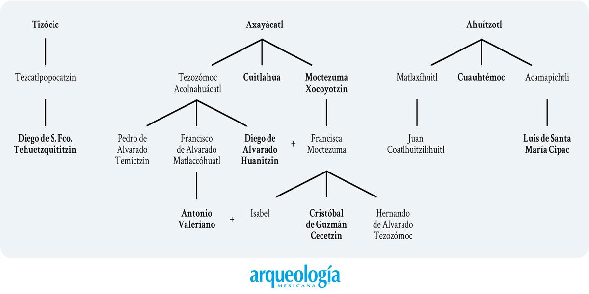La casa real de Tenochtitlan. Don Diego de Alvarado Huanitzin
