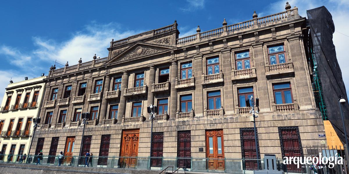 Casa del Marqués del Apartado. Vestigios prehispánicos