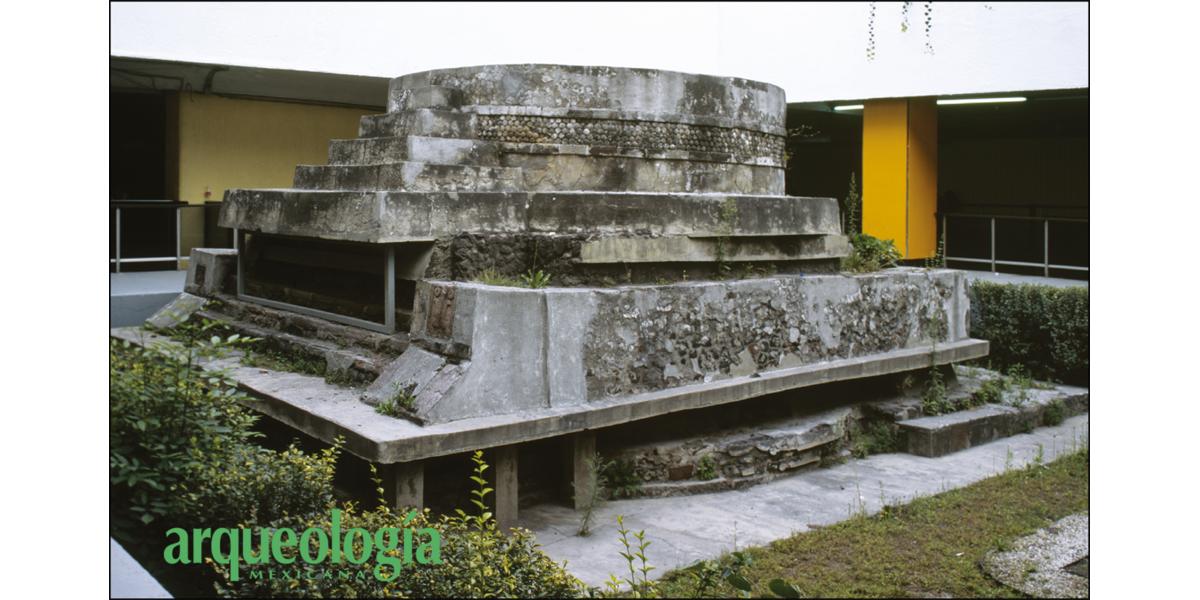 Templos dedicados a Ehécatl-Quetzalcóatl