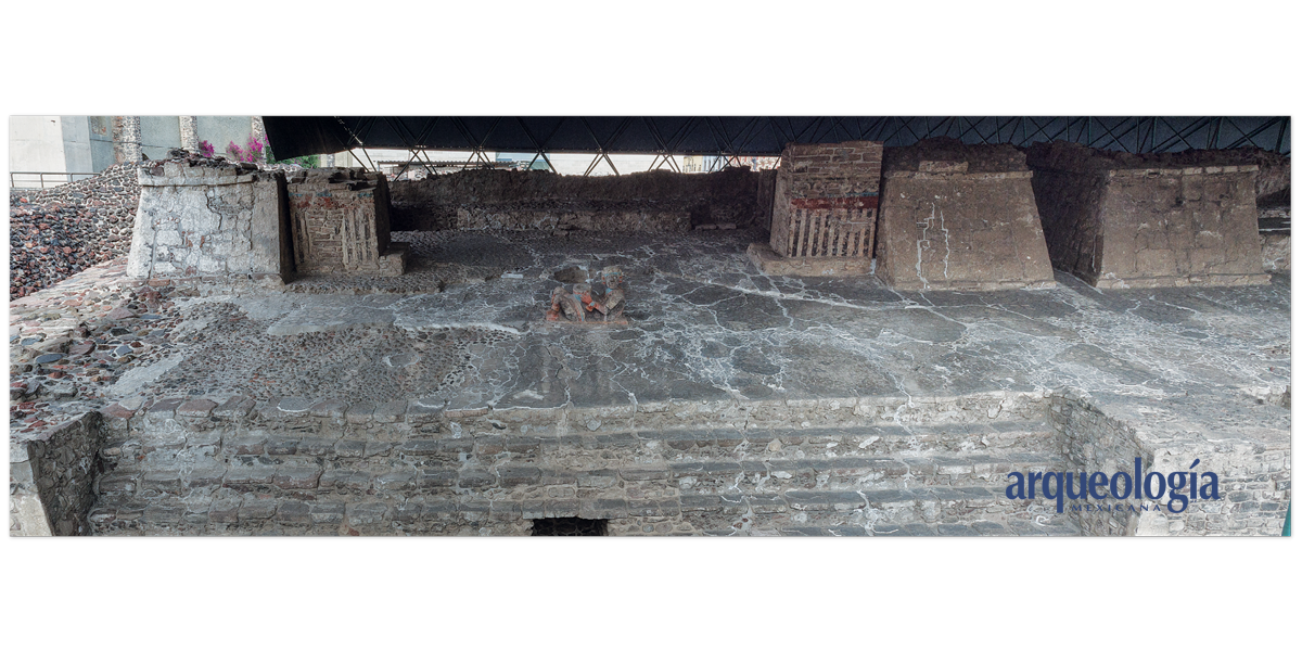Templo Mayor de Tenochitlan. Lado de Tláloc
