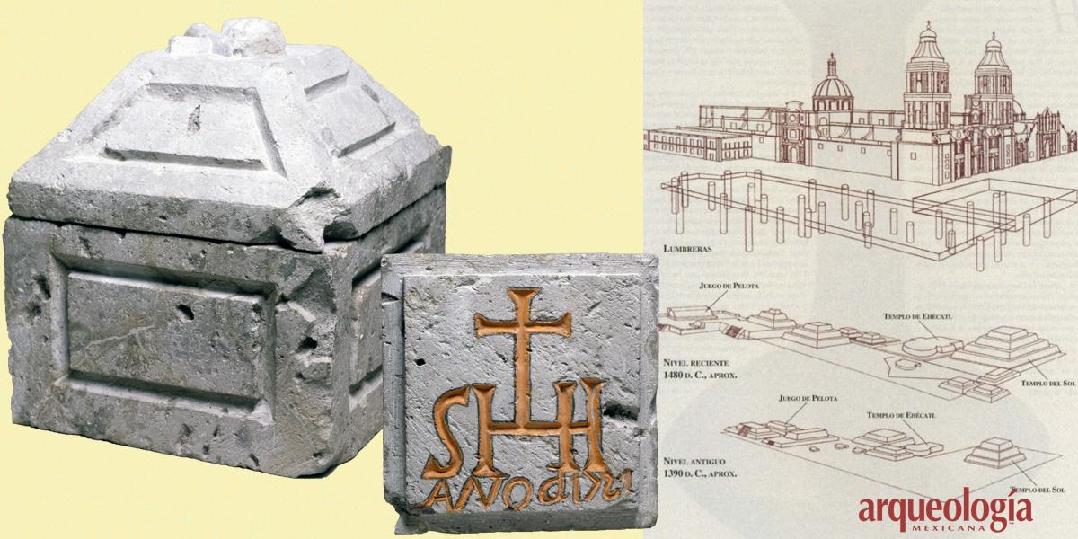 Arqueología en la Catedral de México