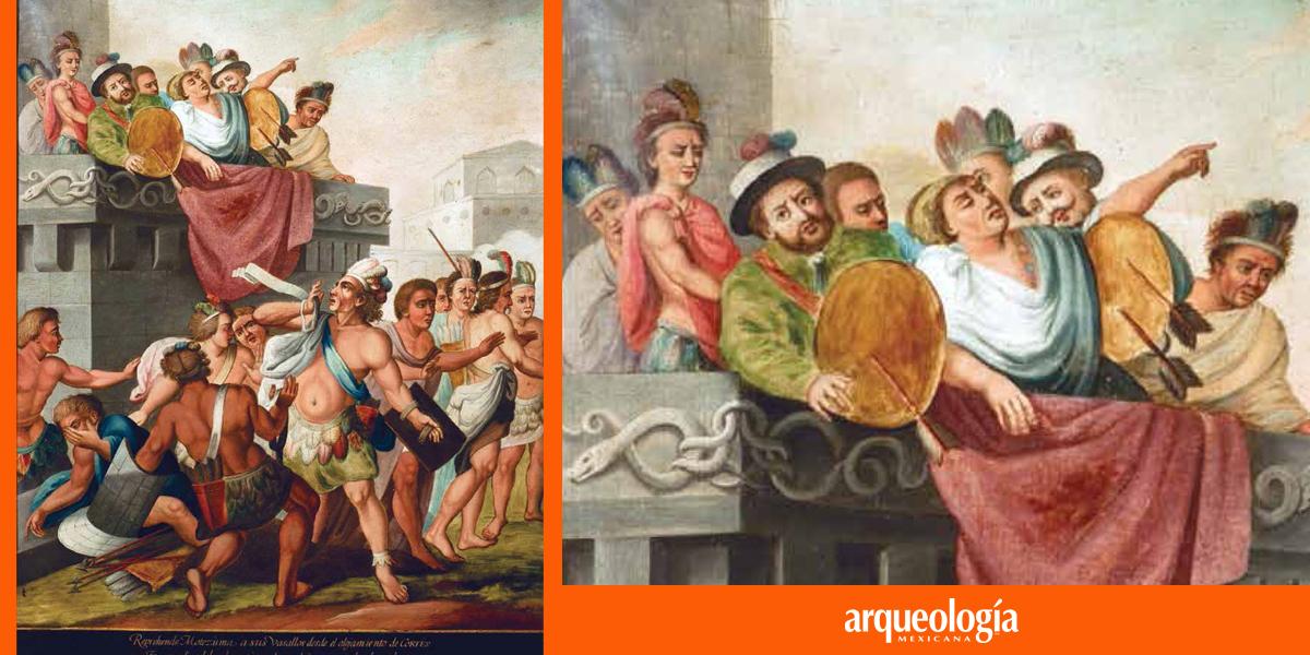 ¿Quién mató a Moctezuma II?