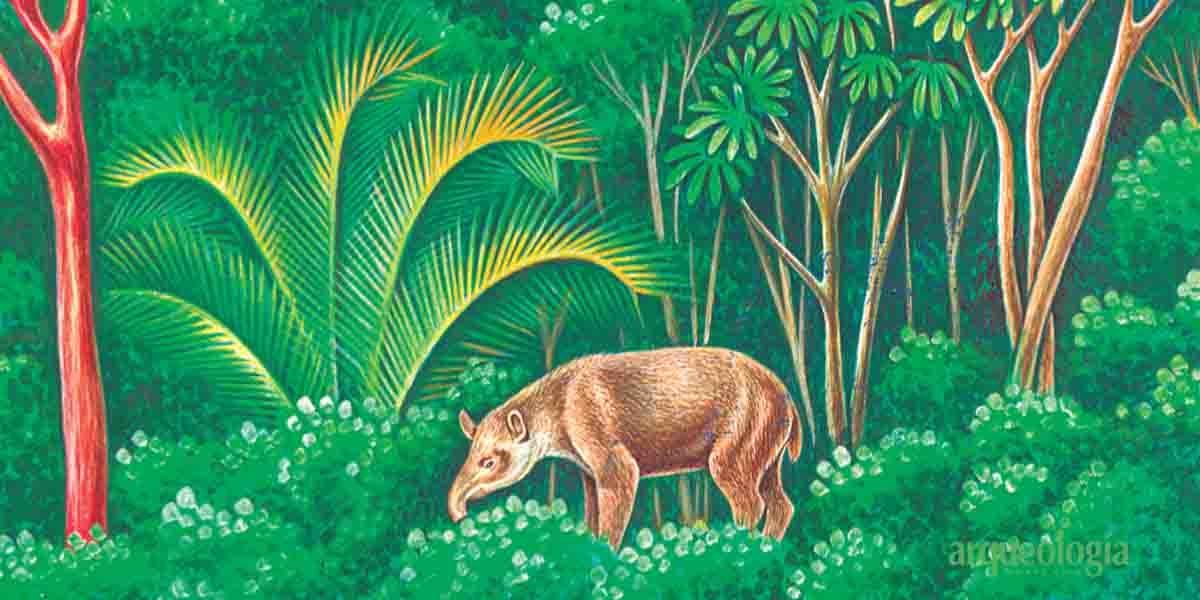 El tapir en el Códice Florentino
