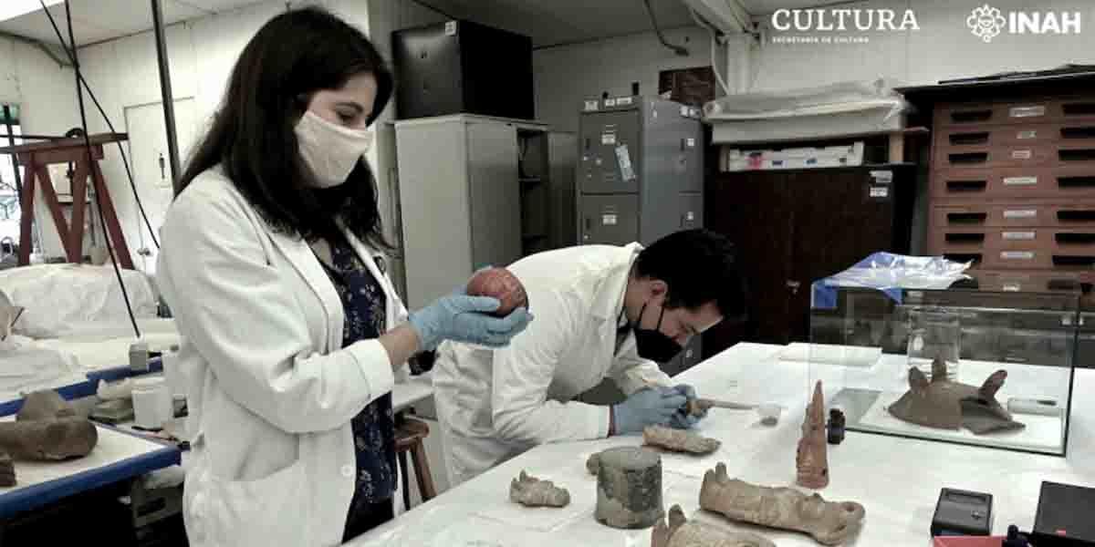 Conservación de la cerámica de Jaina