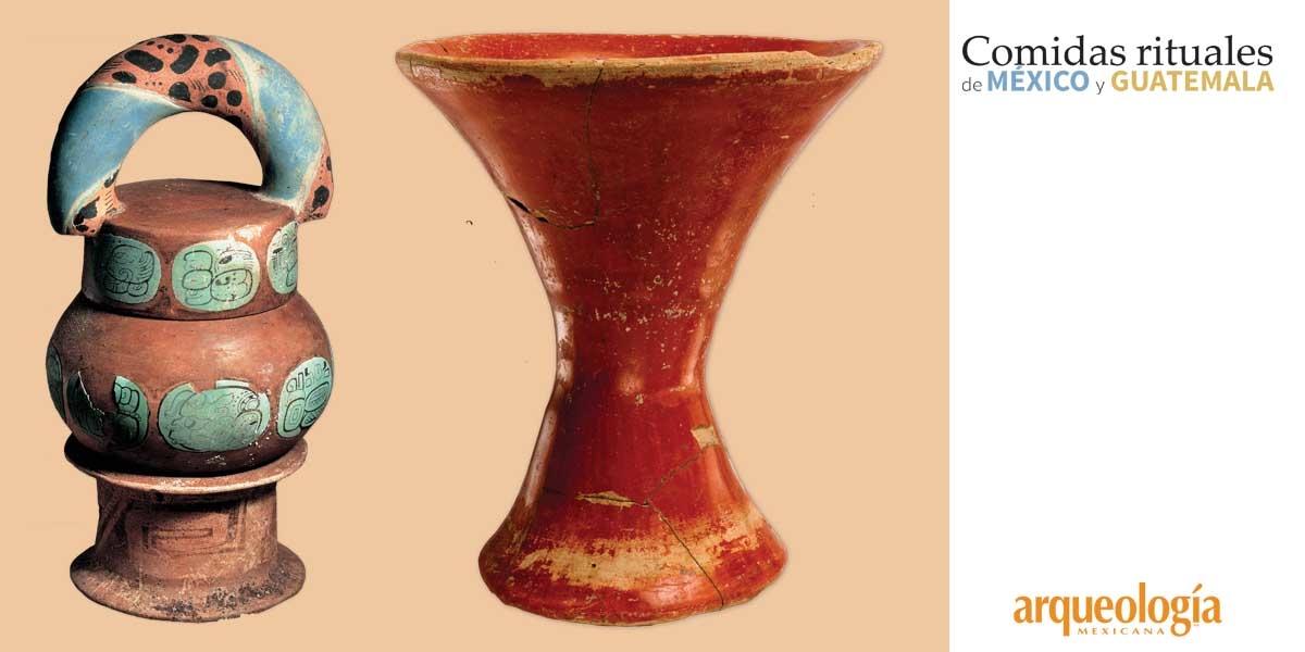 Las bebidas rituales y su huella en la cerámica