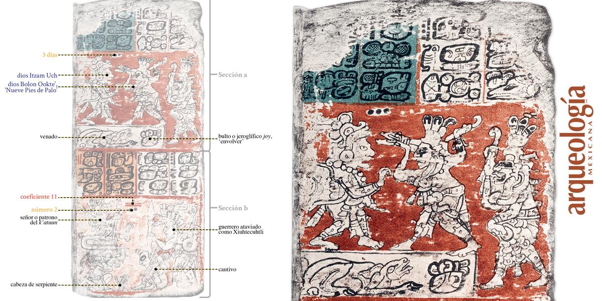 Augurios mayas de guerra y sequía