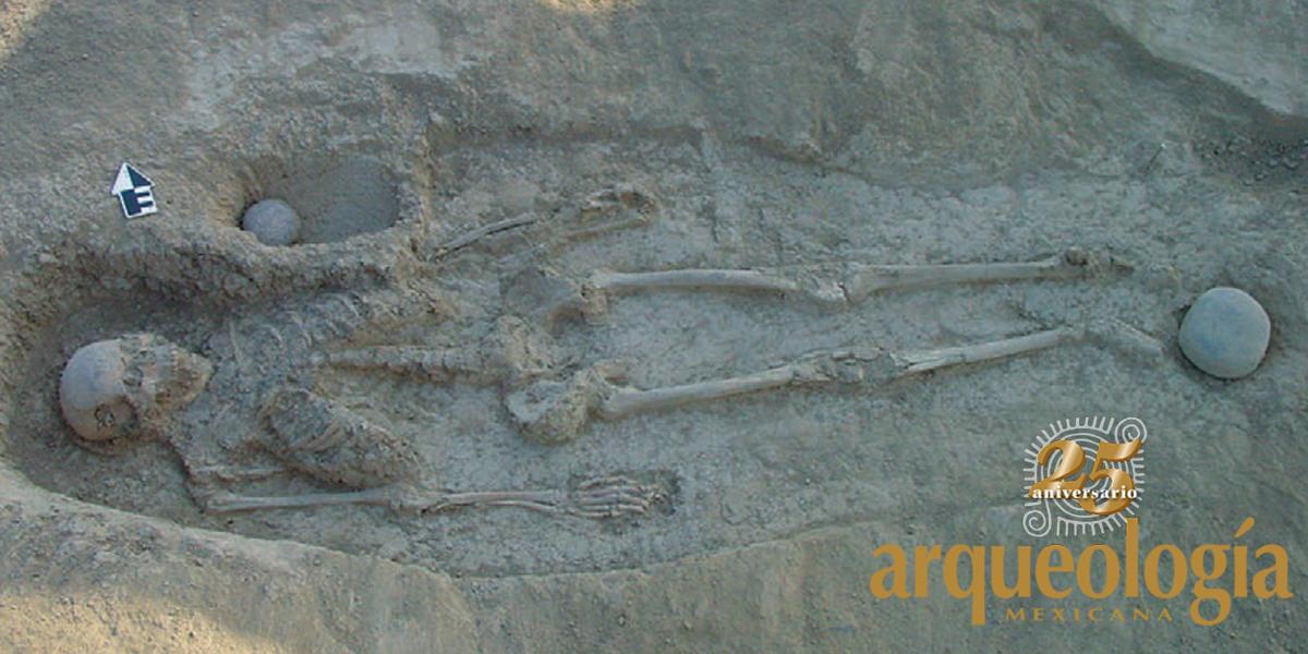 Pintados de rojo. Prácticas funerarias de los primeros agricultores del desierto de Sonora
