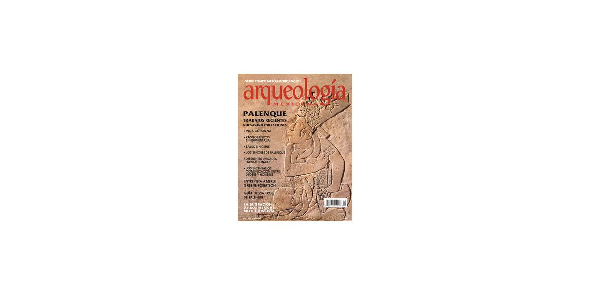 45. Palenque. Trabajos recientes