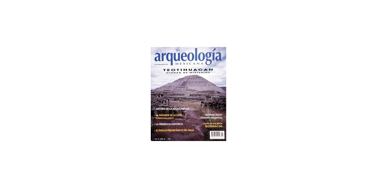 64. Teotihuacan. Ciudad de misterios