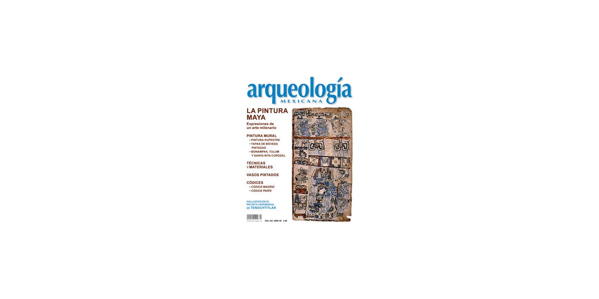 93. La pintura maya