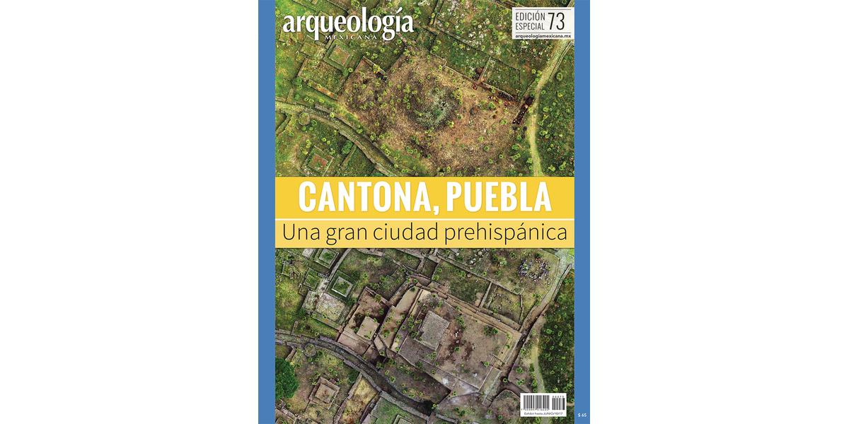E73. Cantona, Puebla. Una gran ciudad prehispánica