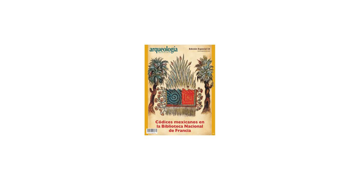 E54. Códices mexicanos en la Biblioteca Nacional de Francia