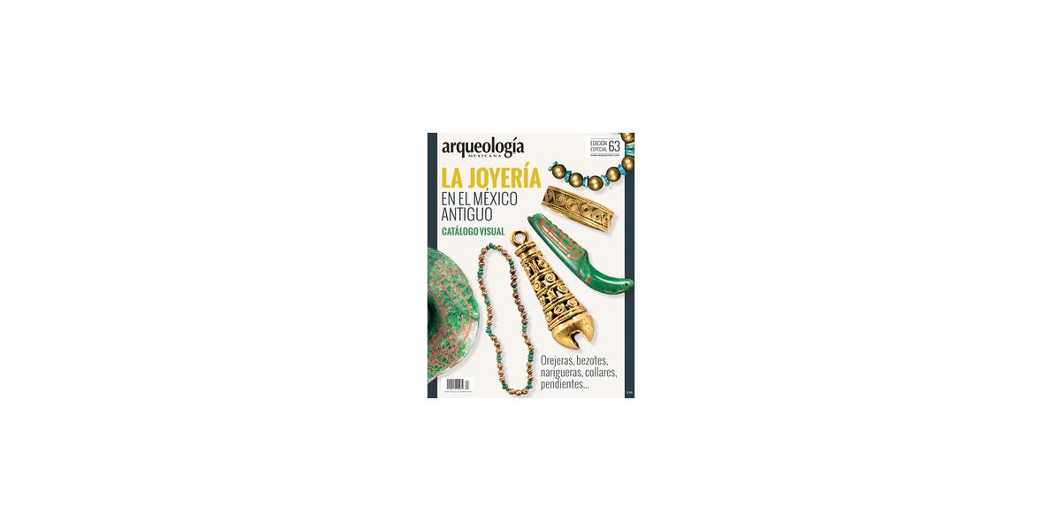 E63. La joyería en el México antiguo. Catálogo visual