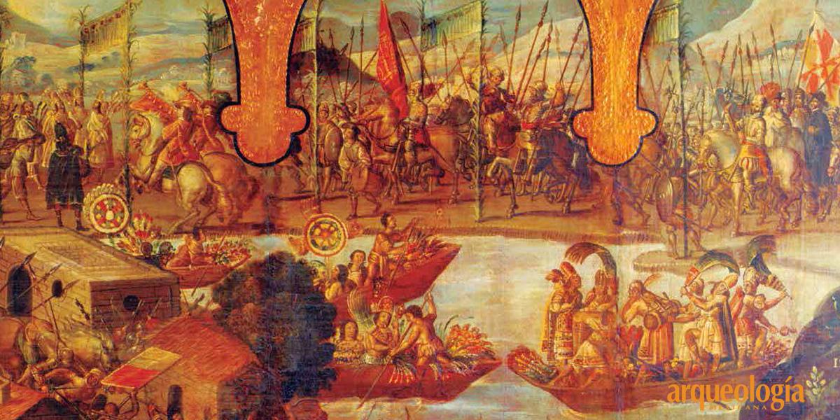Caída de Tenochtitlan y Tlatelolco