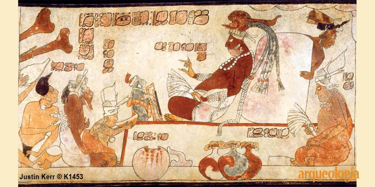 El pulque entre los mayas