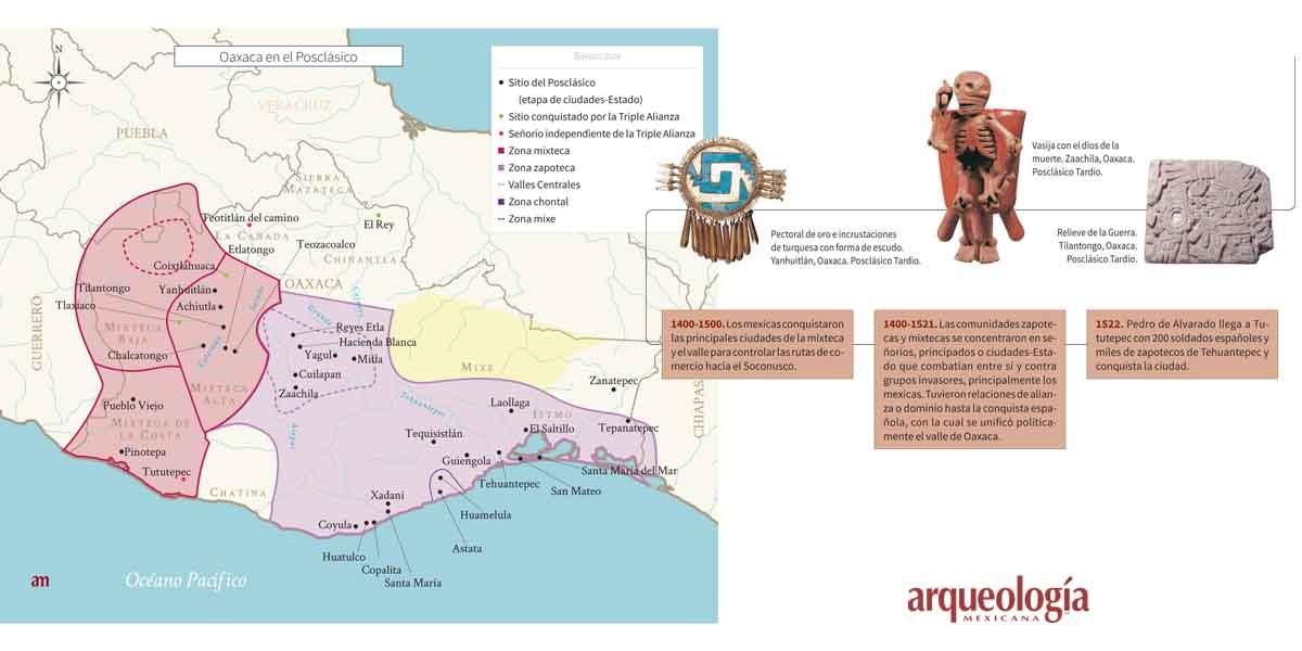 Oaxaca a la llegada de los españoles