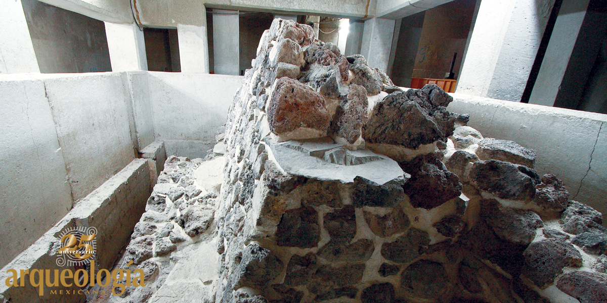Sagrario de la Catedral Metropolitana. Vestigios prehispánicos
