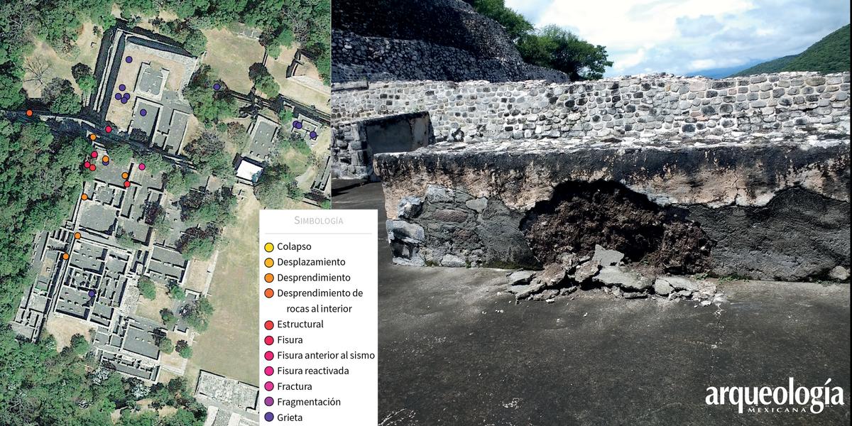 El impacto de los sismos de 2017 en las zonas arqueológicas mexicanas, II
