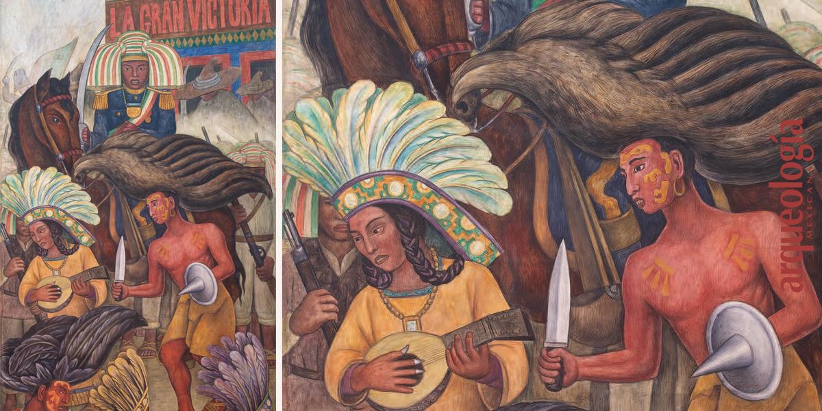 Tableros del Palacio de Bellas Artes. Diego Rivera