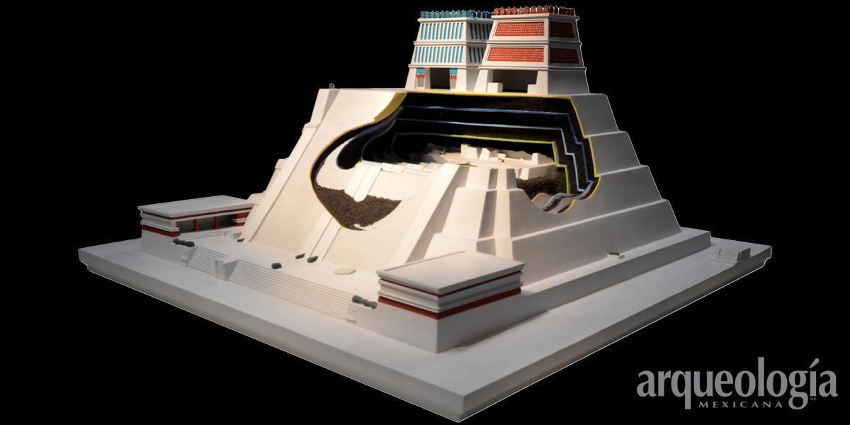 Templo Mayor. Vestigios prehispánicos