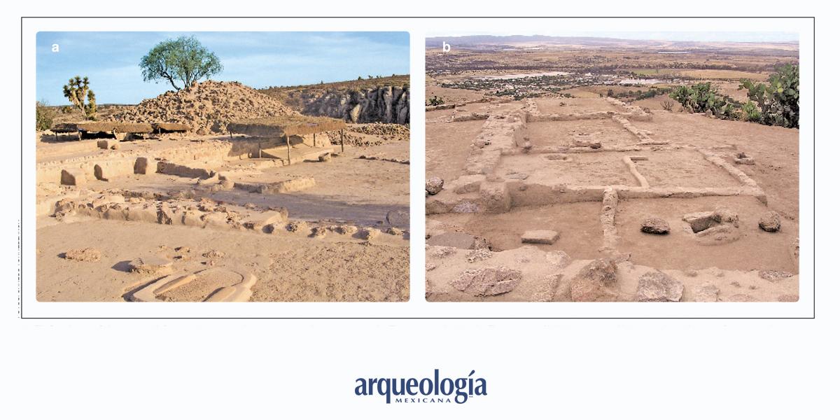 Arqueología en El Cóporo, Guanajuato