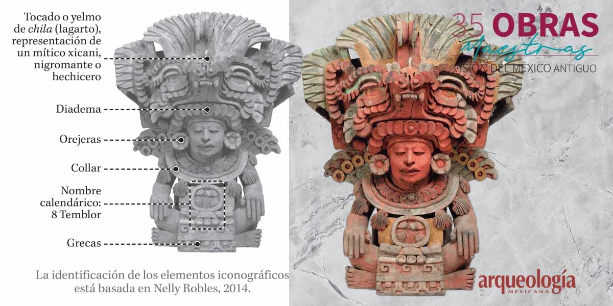 23. Urna de 8 Temblor. Atzompa, Oaxaca
