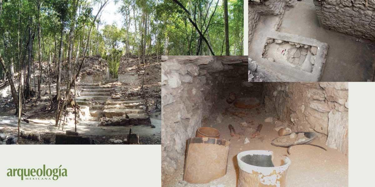 Una tumba maya intacta