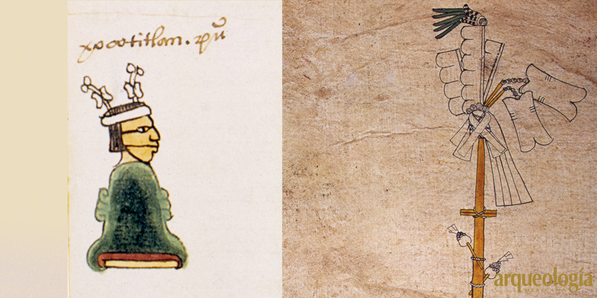 Otontecuhtli Xócotl, deidad otomiana