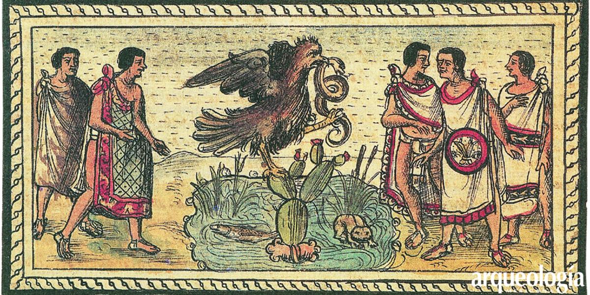 ¿Vieron los mexicas al águila parada sobre el nopal?