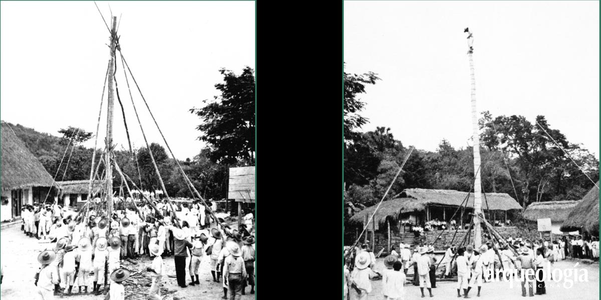 La Danza del Volador en Tamaletom