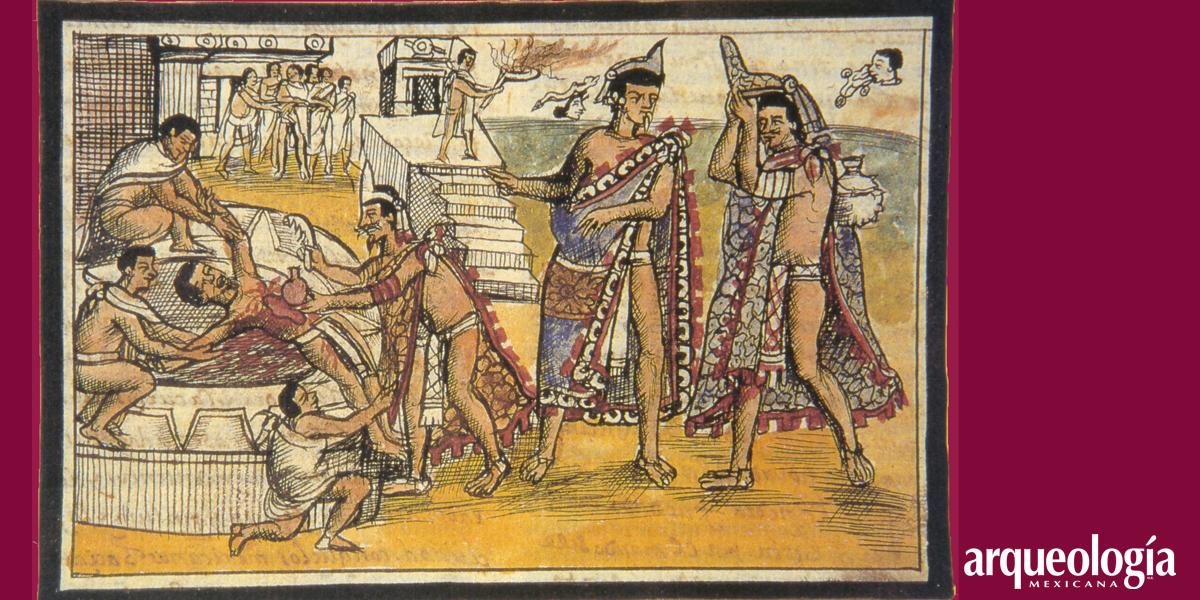 El sacrificio humano entre los mexicas