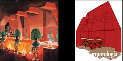 La cripta del Templo de las Inscripciones. Palenque, Chiapas
