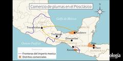Adquisición y circulación de las plumas durante el Posclásico. Las plumas en el imperio mexica, de Ahuítzotl a Moctezuma