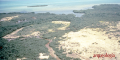 Un complejo portuario maya