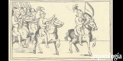 Santiago y la yegua. La batalla de Cintla