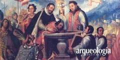 Fray Bartolomé de Olmedo y el bautizo de los primeros señores que se convirtieron al cristianismo