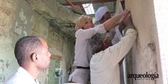 Avanza restauración de la Tumba Tebana de Puimra