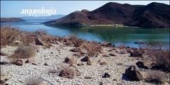 La costa norte del Golfo en la península de Baja California