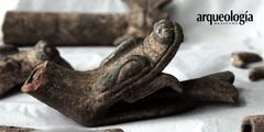 Restauran sahumadores utilizados en ofrenda prehispánica