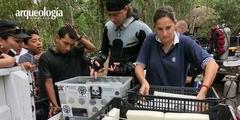Se descubre un nuevo género y especie de perezoso gigante en un cenote de Quintana Roo