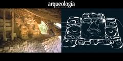 Los mascarones de Acanceh, Yucatán