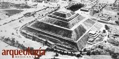 La Pirámide del Sol, Teotihuacan, Estado de México