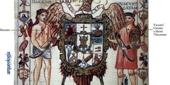 Escudo de armas de Tzintzuntzan, Michoacán, siglo XVI